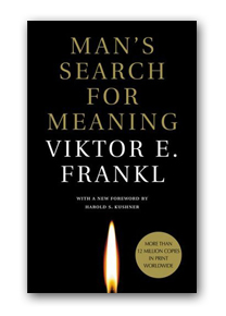 Man's Search for Meaning can be found in our nonfiction section under the call number 150.195 FRA and as a downloadable audio file.