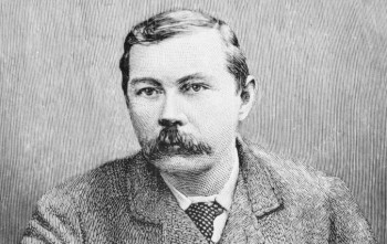 Portrait of A. Conan Doyle